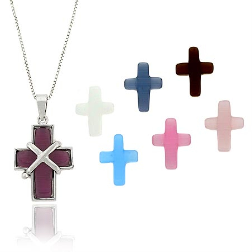 Highest quality fancy cross charm real sliver 1.18 30 mm with 925 sterling silver comfortable /& quality cross jewelry pendant